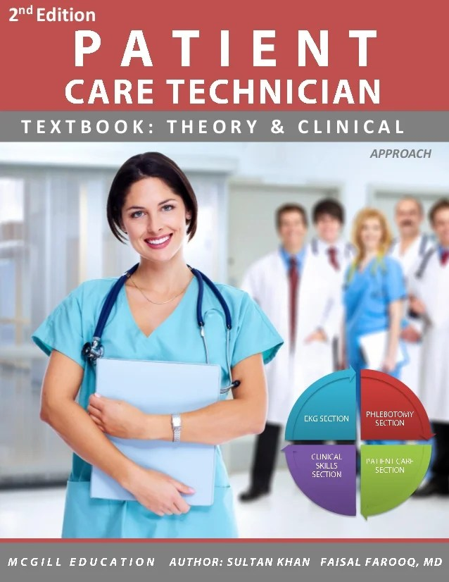 Patient care Technician Book (Best Selling Author)