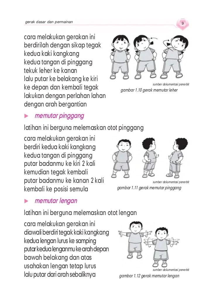Gerakan Membungkukkan Badan Bertujuan Melemaskan Otot : gerakan, membungkukkan, badan, bertujuan, melemaskan, Penjaskes, Sd_mi_kelas_1