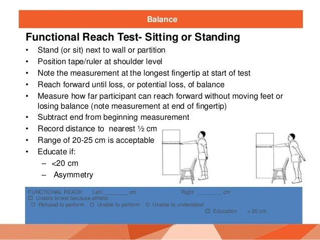 chair stand test measure ergonomic vs office funfitness training