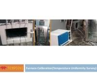 Furnace calibration - temperature uniformity survey