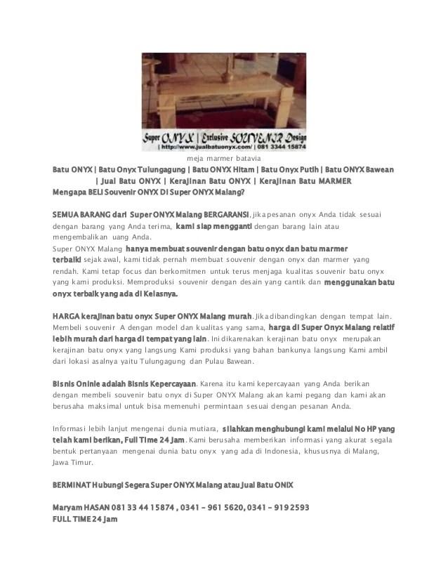 Furniture Murah Meja Marmer Antik Cermin Hias Dinding