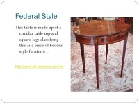 Furniture Styles Power Point 2!!