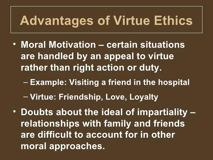 G7 Virtue Ethics
