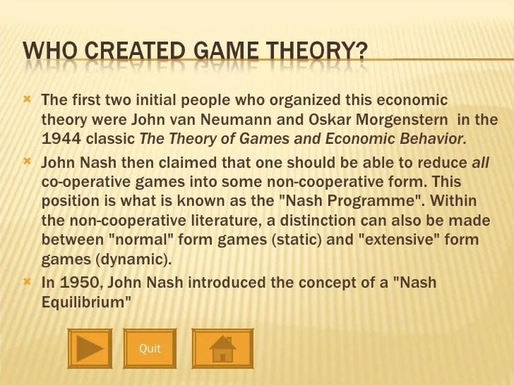 Game Theory Pptx