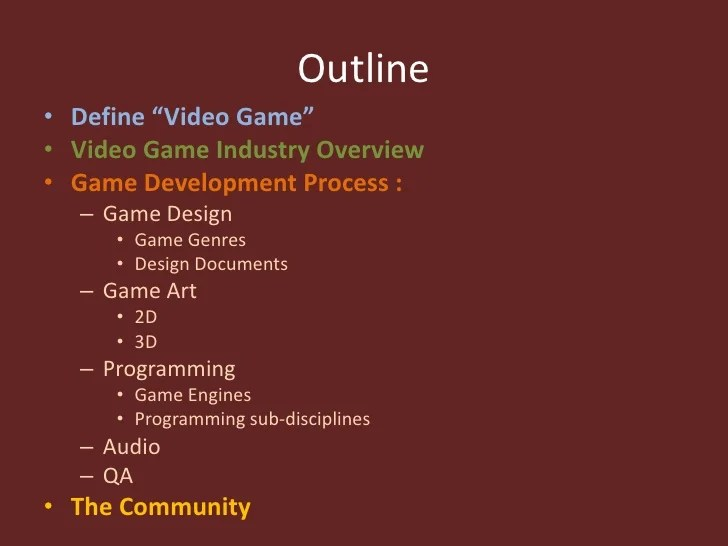 An Introduction To Game Development