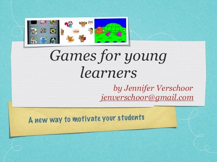 Games For Young Learners