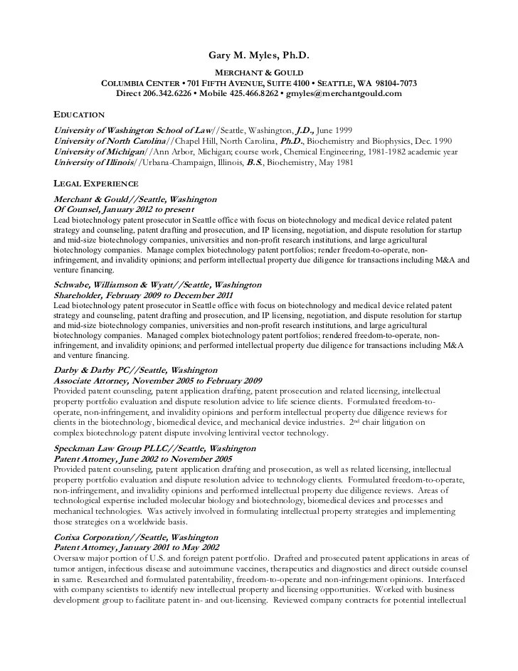 Patent Associate Cover Letter