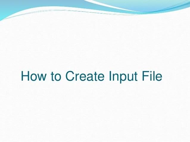Gaussian 09 Input File Example - Idee per la decorazione di interni