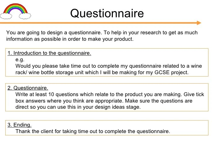 chair design questionnaire patio lounge cushions gcse folder presentation (c cox v1)[1]