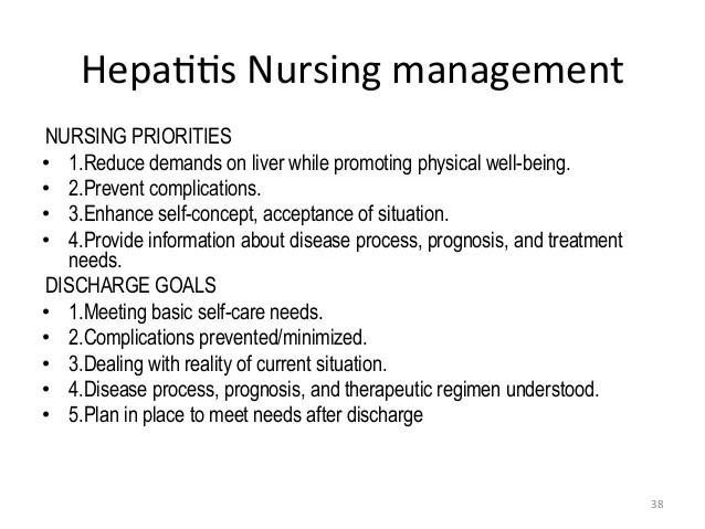 Care Plan Hepatitis C
