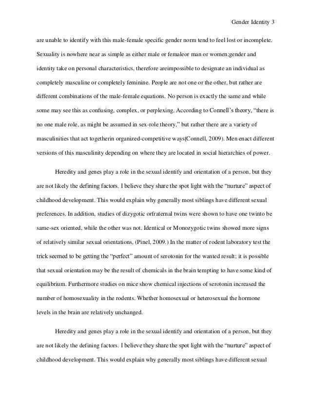 Gender Role Essay Research Papers On Gender Roles Gender Roles Essay