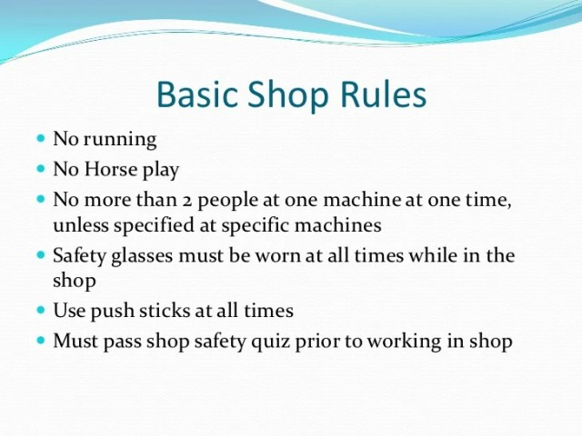 ... machines general safety tips, woodworking machinery newspaper