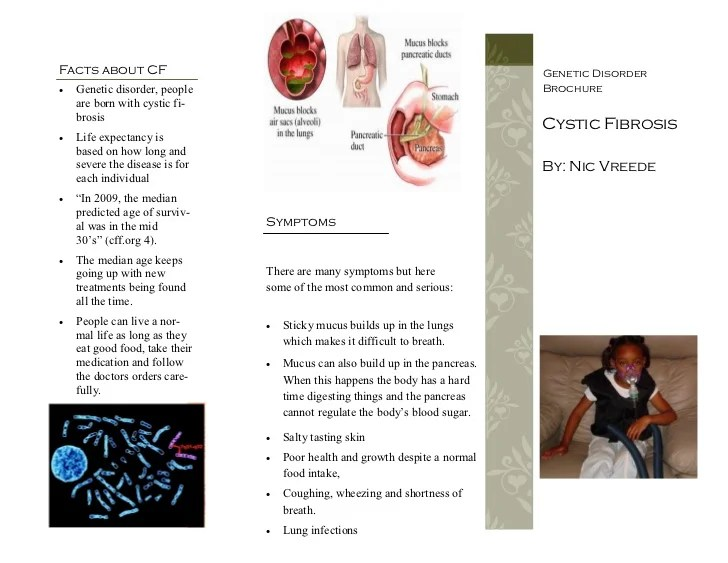 Genetic Disorder Brochure