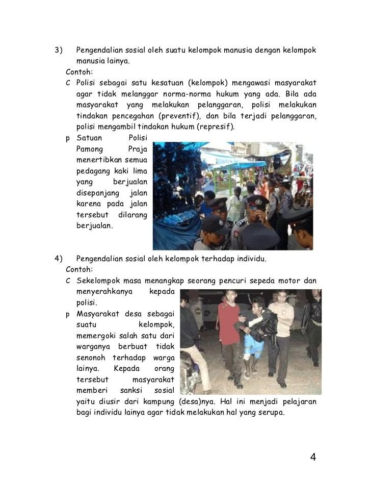 Geografi 8 makalah pengendalian penyimpangan sosial