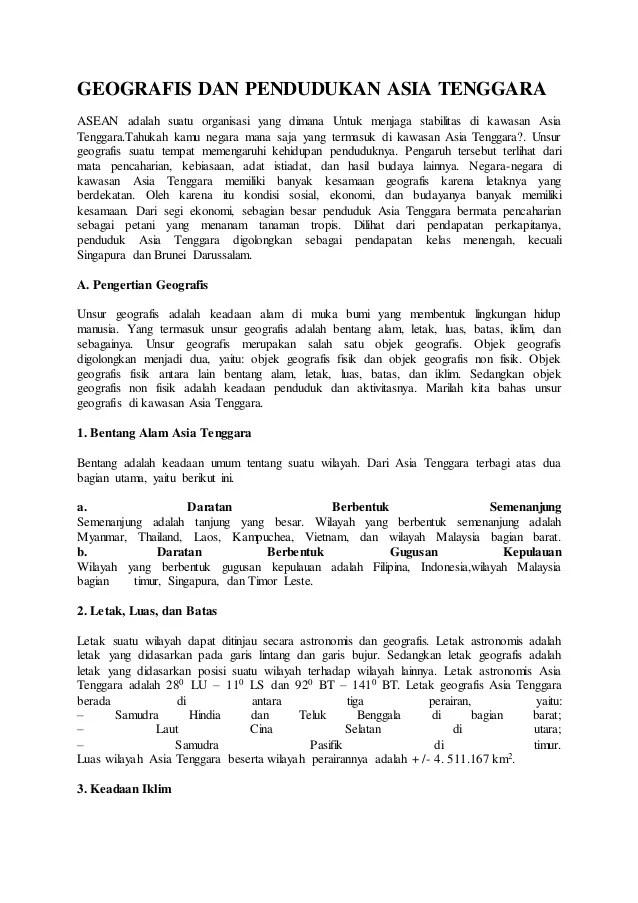 Bentang Alam Singapura : bentang, singapura, Geografis, Pendudukan