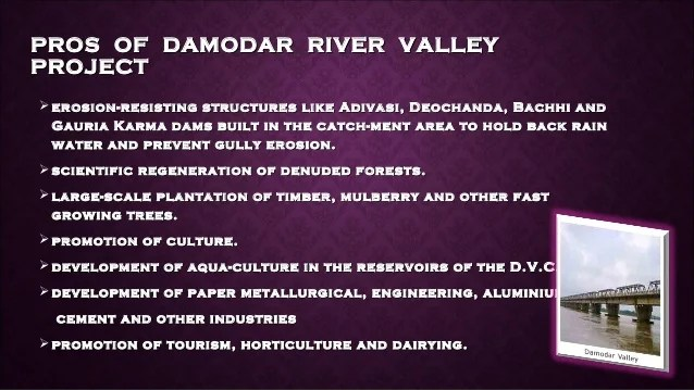 Water Dam Narmada Valley