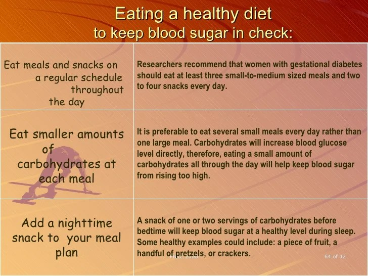 Eating also gestational diabetes rh slideshare