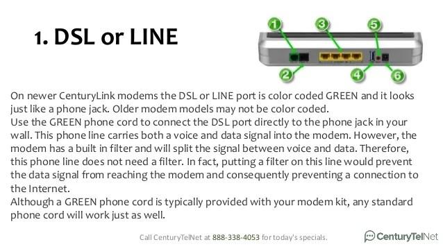 Dsl Light Blinking No Internet
