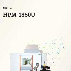 Hpm 770 Wiring Diagram Fishbone Template Excel Free Gf Machining Solutions Mikron Milling Model 1850u1sp