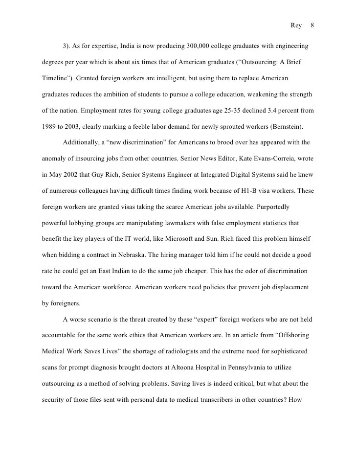 American Essay Ginger Rey Essay Example Abandoning America Research