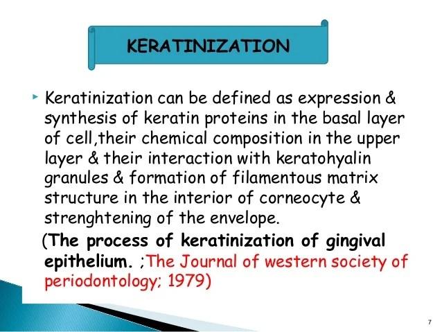Gingival keratinization ppt