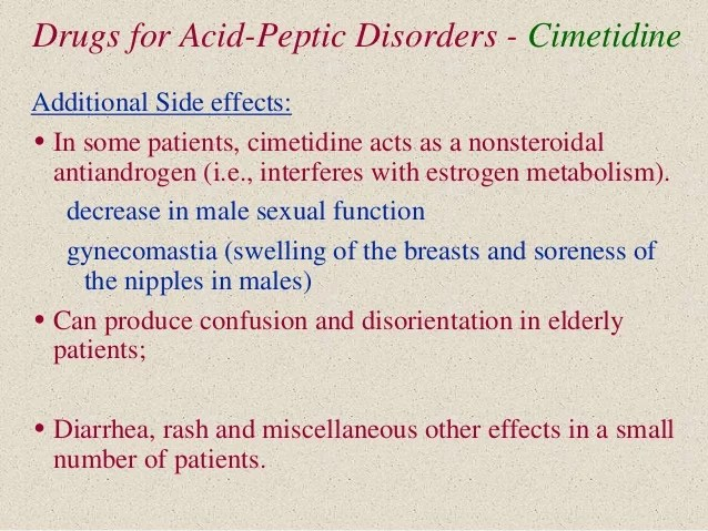Drugs for Peptic Ulcer