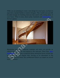 Staircases and Banisters | Designer stairs