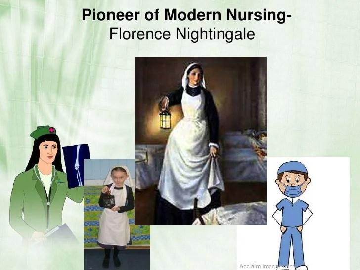 Glimpse of contemporary nursing
