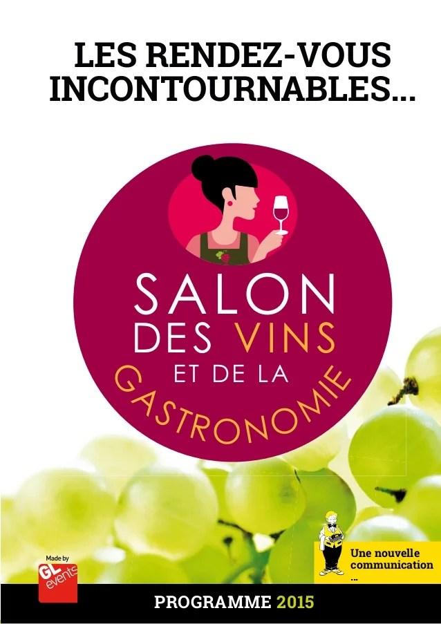 Salon des vins et de la gastronomie 2015