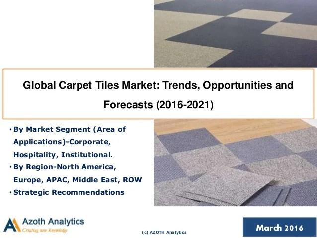 global carpet tiles market trends