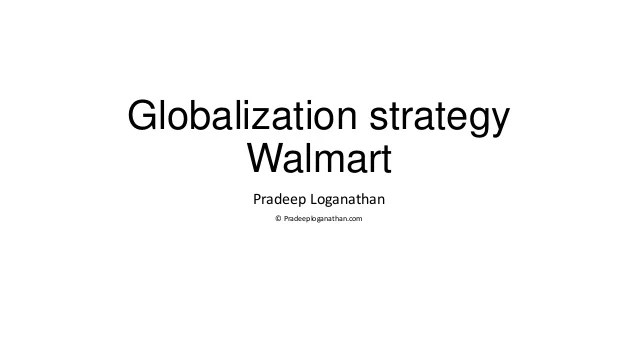 Case Study Business Strategy Analysis Of Walmart | Sample