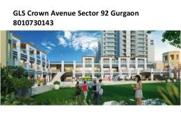 GLS Crown Avenue Sector 92 Gurgaon 8010730143