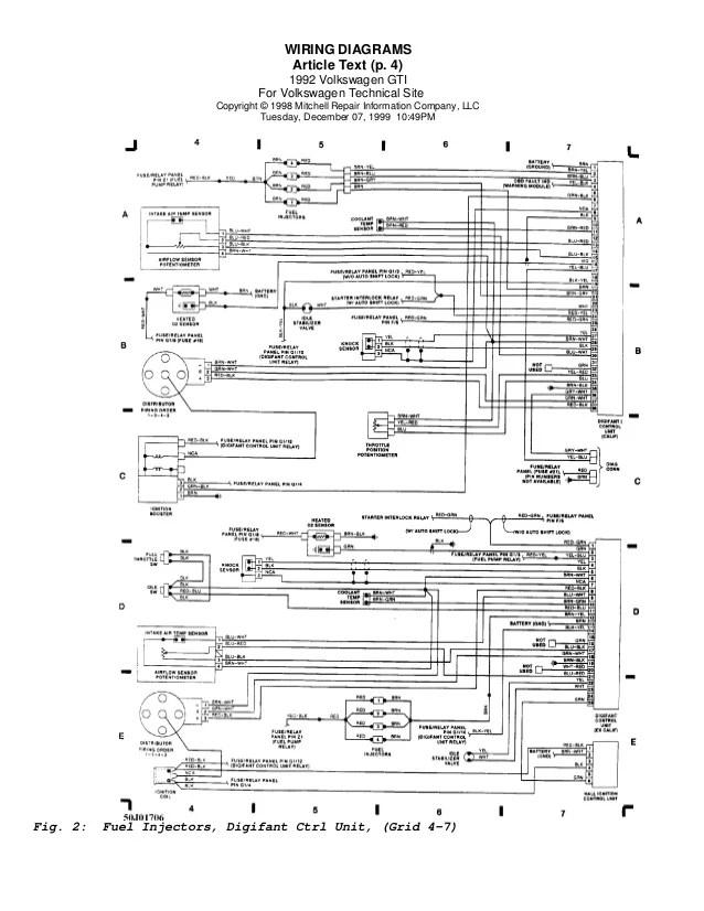 wiring diagram golf 3 vr6