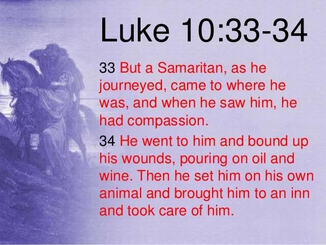Image result for luke 10:33-34