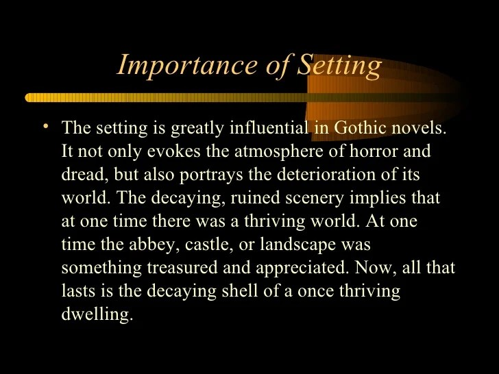 critical quotes about gothic literature characteristics powerpoint, Powerpoint templates