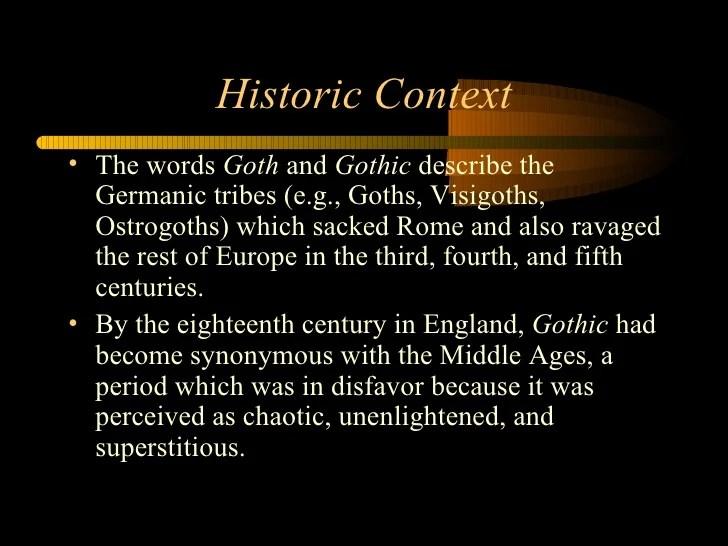 Gothic Imagery Definition  impremedianet