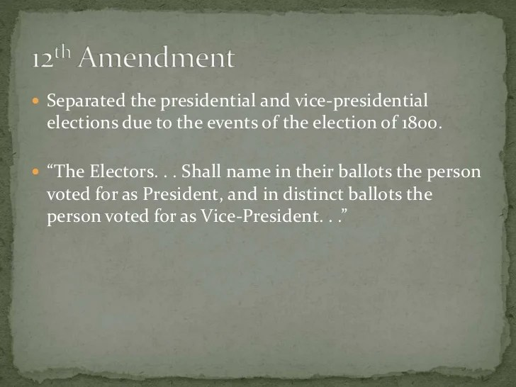 Presidential Election Electoral Process Steps