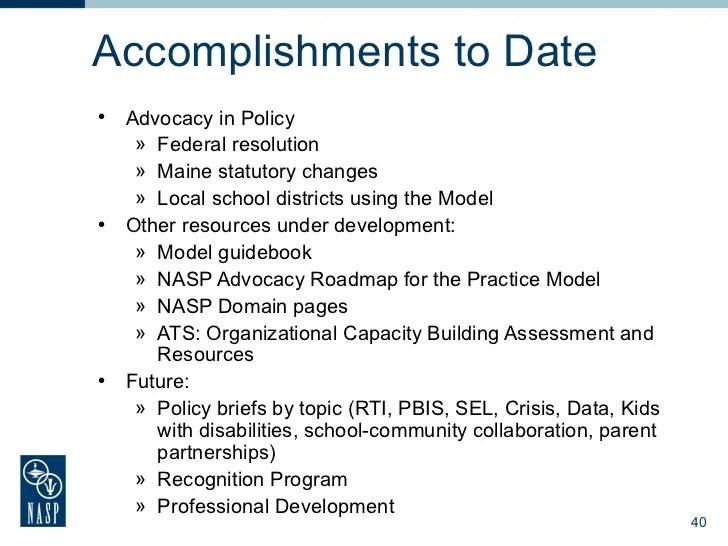 Strengthening State Advocacy Basic Training