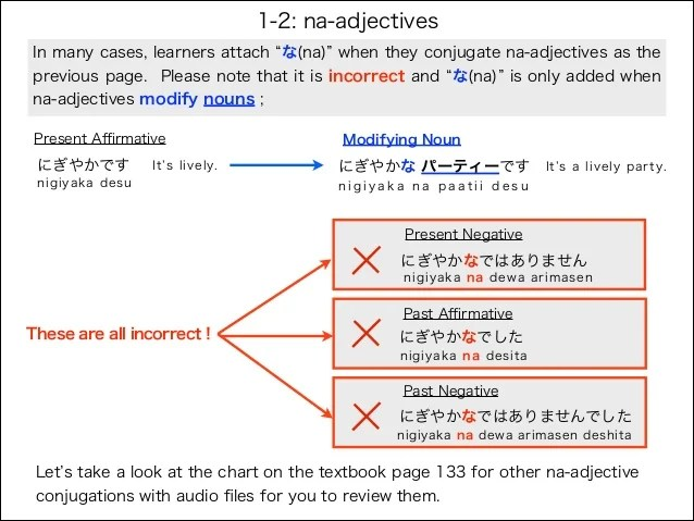 in many cases also japanese adjectives rh slideshare
