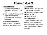 Graphite furnace atomic absorption spectroscopy