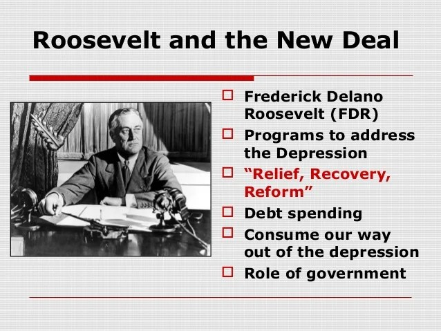 Greatdepression and New Deal