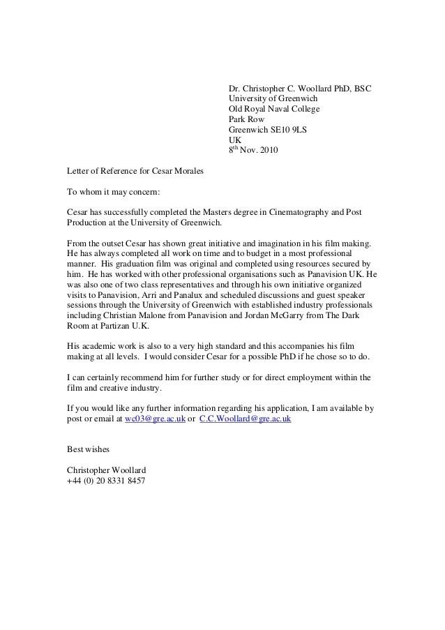 Recommendation letter for masters degree in economics for Economics professor resume