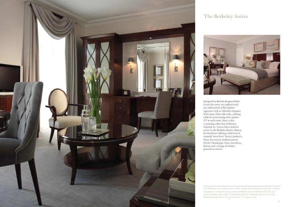Group Suites Brochure Maybourne Hotel Group London