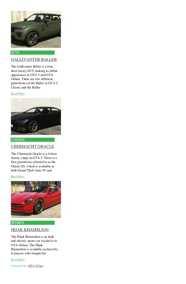 List Of Sports Cars In Gta 5 | Wordcars co