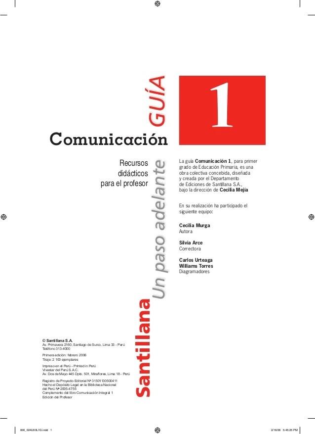 Guia comunicacion integral