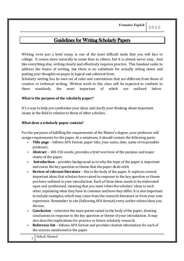 Five Paragraph Narrative Essay Sample