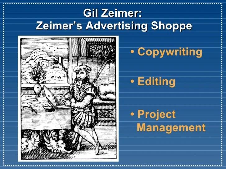 Zeimers Advertising Shoppe BNI Presentation 052709v1