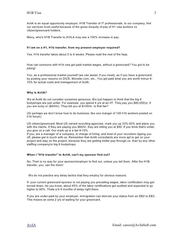 Resume For H1b Visa Application - Resume Examples | Resume