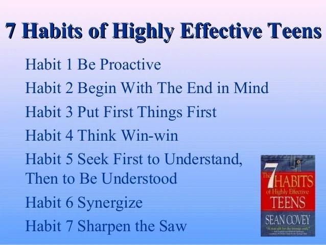Personal Bank Account 7 Habits
