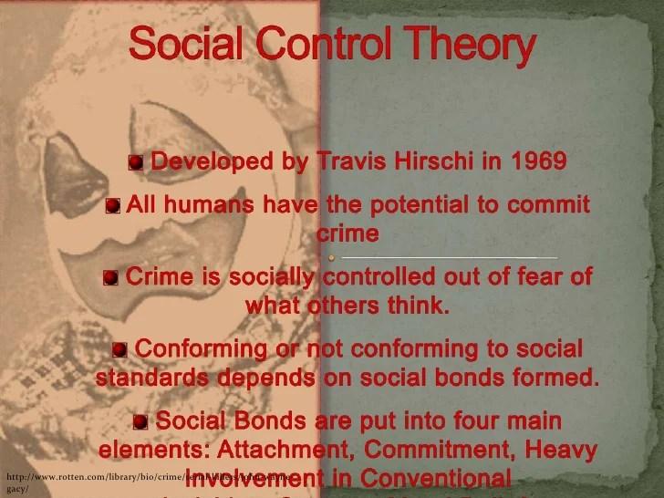 social control theory